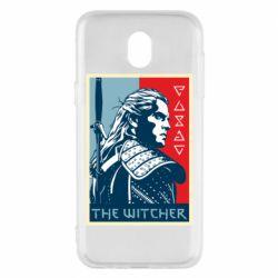 Чехол для Samsung J5 2017 The witcher poster