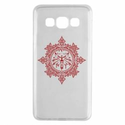 Чохол для Samsung A3 2015 The Witcher Wolf and Pattern