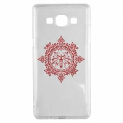 Чохол для Samsung A5 2015 The Witcher Wolf and Pattern
