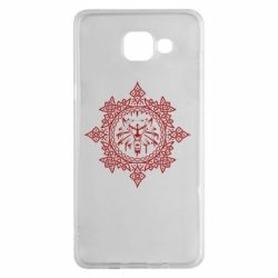 Чохол для Samsung A5 2016 The Witcher Wolf and Pattern