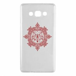 Чохол для Samsung A7 2015 The Witcher Wolf and Pattern