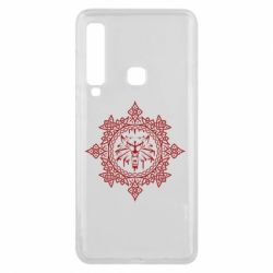 Чохол для Samsung A9 2018 The Witcher Wolf and Pattern