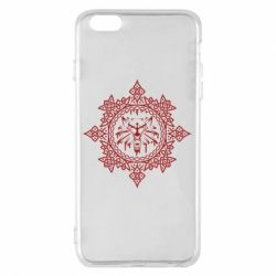 Чохол для iPhone 6 Plus/6S Plus The Witcher Wolf and Pattern