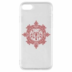 Чохол для iPhone 7 The Witcher Wolf and Pattern