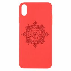 Чохол для iPhone X/Xs The Witcher Wolf and Pattern