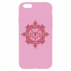 Чохол для iPhone 6/6S The Witcher Wolf and Pattern