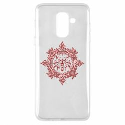Чохол для Samsung A6+ 2018 The Witcher Wolf and Pattern