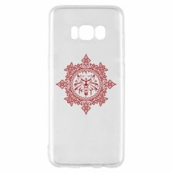 Чохол для Samsung S8 The Witcher Wolf and Pattern