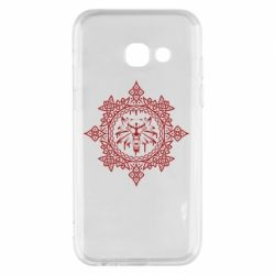Чохол для Samsung A3 2017 The Witcher Wolf and Pattern