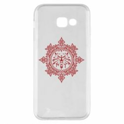 Чохол для Samsung A5 2017 The Witcher Wolf and Pattern