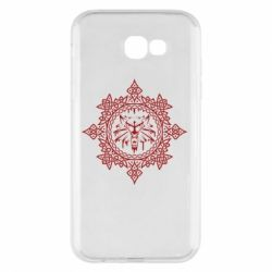 Чохол для Samsung A7 2017 The Witcher Wolf and Pattern