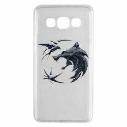 Чехол для Samsung A3 2015 The  witcher: wolf and swallow