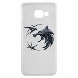 Чехол для Samsung A3 2016 The  witcher: wolf and swallow