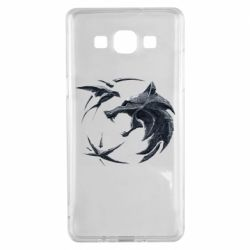 Чехол для Samsung A5 2015 The  witcher: wolf and swallow