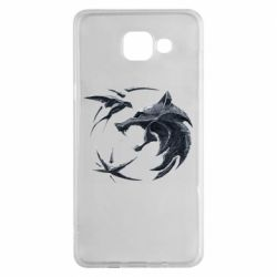 Чехол для Samsung A5 2016 The  witcher: wolf and swallow