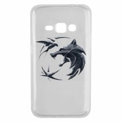 Чехол для Samsung J1 2016 The  witcher: wolf and swallow