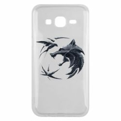 Чехол для Samsung J5 2015 The  witcher: wolf and swallow