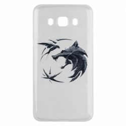 Чехол для Samsung J5 2016 The  witcher: wolf and swallow
