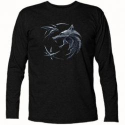 Футболка с длинным рукавом The  witcher: wolf and swallow