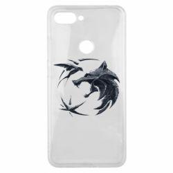 Чехол для Xiaomi Mi8 Lite The  witcher: wolf and swallow