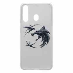 Чехол для Samsung A60 The  witcher: wolf and swallow