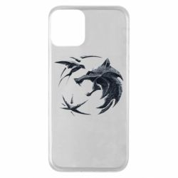 Чехол для iPhone 11 The  witcher: wolf and swallow
