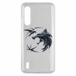 Чехол для Xiaomi Mi9 Lite The  witcher: wolf and swallow