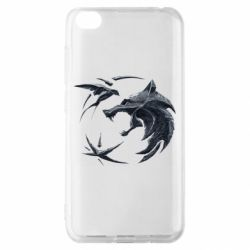 Чехол для Xiaomi Redmi Go The  witcher: wolf and swallow