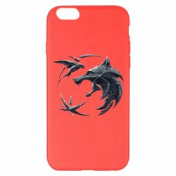 Чехол для iPhone 6 Plus/6S Plus The  witcher: wolf and swallow