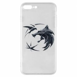 Чехол для iPhone 7 Plus The  witcher: wolf and swallow