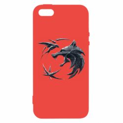 Чехол для iPhone5/5S/SE The  witcher: wolf and swallow