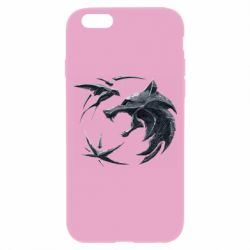 Чехол для iPhone 6/6S The  witcher: wolf and swallow