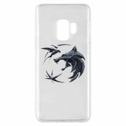 Чехол для Samsung S9 The  witcher: wolf and swallow