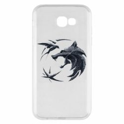 Чехол для Samsung A7 2017 The  witcher: wolf and swallow