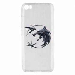 Чехол для Xiaomi Mi5/Mi5 Pro The  witcher: wolf and swallow