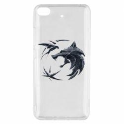 Чехол для Xiaomi Mi 5s The  witcher: wolf and swallow