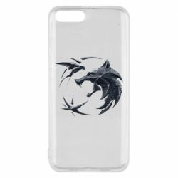 Чехол для Xiaomi Mi6 The  witcher: wolf and swallow