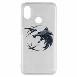 Чехол для Xiaomi Mi8 The  witcher: wolf and swallow