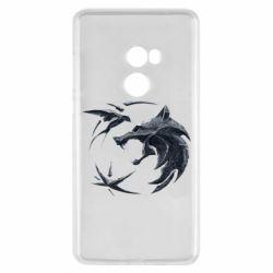 Чехол для Xiaomi Mi Mix 2 The  witcher: wolf and swallow