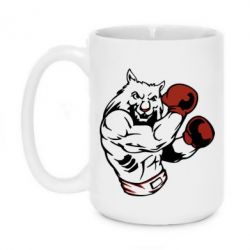 Купить Кружка 420ml The Wolf Boxer, FatLine