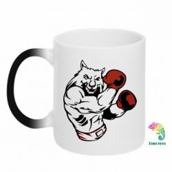 Кружка-хамелеон The Wolf Boxer