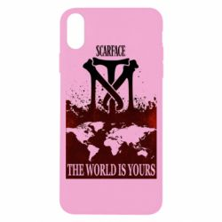 Чехол для iPhone X The world is yours - FatLine