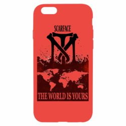 Чехол для iPhone 6/6S The world is yours - FatLine
