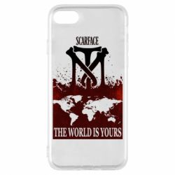 Чехол для iPhone 7 The world is yours - FatLine
