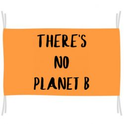 Прапор There's no planet b