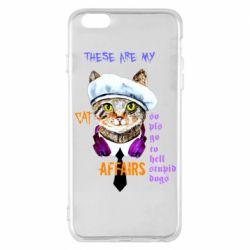 Чехол для iPhone 6 Plus/6S Plus These are my cat affairs
