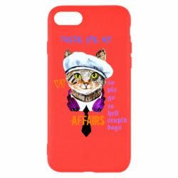 Чехол для iPhone 7 These are my cat affairs