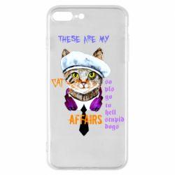 Чехол для iPhone 7 Plus These are my cat affairs