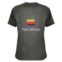 Камуфляжная футболка Think different.