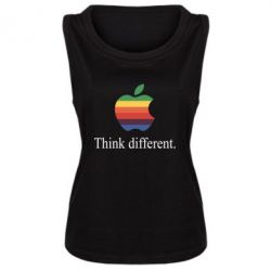 Майка жіноча Think different.